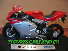 MOTO  1/18 MV 750 F4S   2002 WELLY