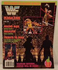 WWF WWE Magazine June 1992 Ultimate Warrior & Hulk Hogan Cover Wrestlemania VIII