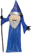 Adult Big Head Wizard Costume - Mascot Sale! fnt