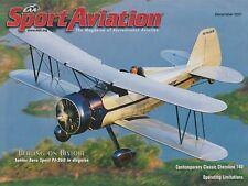 Sport Aviation (Dec 2001) (Aero Sport PJ-260, Cherokee 140, Flight Testing)