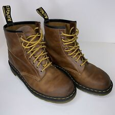 Dr Doc Martens Air Wair With Bouncing Soles Brown Mens Boot Size 11 Leather
