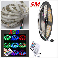 5M SMD 300LEDS 3528 IP65 Flexible LED Strip 12V Super Bright For Home Party Car