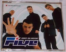 Five – Keep On Movin' – CD Single (enhanced CD)