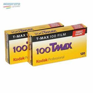 KODAK T-Max 100 (TMX) Schwarzweißfilm, 120, 2x 5 Stück