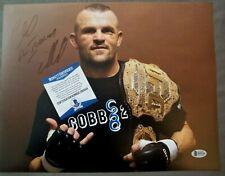 CHUCK 'ICEMAN' LIDDELL - 11x14  SIGNED PHOTO BAS - UFC MMA Autograph Auto