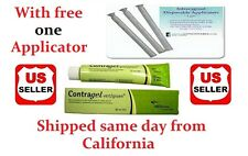 US seller, Genuine Vegan ContraGel Green Contraceptive Gel with free applicator
