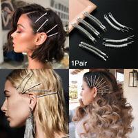 barrette les pinces à cheveux strass épingles à cheveux hairgrip de cristal