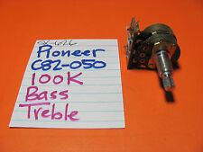 PIONEER C82-050-0 BASS TREB POT 100k SX-626 QA-800 QA-800A  SA-600