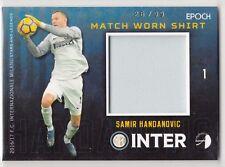2016/17 Epoch Inter Milan Match Worn Shirt #4 Samir Handanovic 26/99