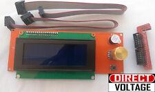 Reprap Ramps1.4 2004 Lcd display controller with adapter Mendel,Prusa 3D Printer