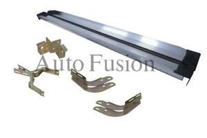 Side Steps Kit W/Brackets For Toyota Hilux Dual Cab TGN/KUN/GGN (2005 - 2011)