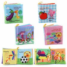 Stoffbuch Fühlbuch Baby Kleinkind Kind Motorik Kinderbuch Farm Tiere anfassen