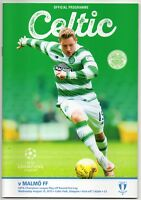 2015 - 2016 UEFA Champions League Programme Play off round CELTIC v MALMO FF
