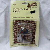 Dollhouse Miniature 1:12 Scale LED Tiffany Style Table Lamp Spare Bulb 12 Volt