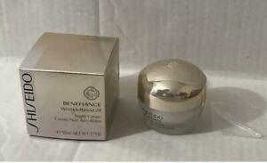 SEALED Shiseido Benefiance WrinkleResist24 Night Cream, 50 ML 1.7 oz