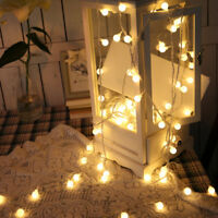 20/40 Festoon Ball LED String Light Fairy Holiday Light Christmas Wedding Decor