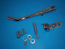 Harley Shovelhead Softail Chrome Side Jiffy Kick Stand 58-99 w/Hardware