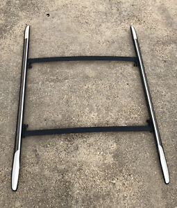 2008-2014 Cadillac Escalade Roof Rack Cross Bar Complete Set Luggage Carrier OEM
