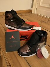 Nike Air Jordan 1 High retro og Fearless UE 43 | us 9,5 | UK 8,5 nuevo off white