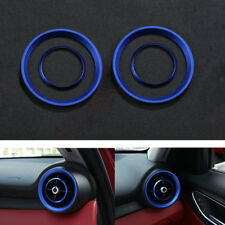 Car Front Dashboard Air Condition Vent Outlet Trim For Alfa Romeo 2017 Giulia
