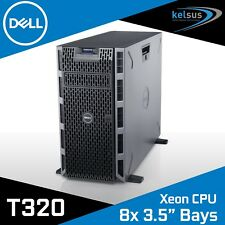 "DELL PowerEdge T320 Tower Server Xeon Hex Core E5-2430 12GB DDR3 8x 3.5"" Bays"