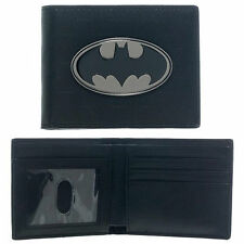 Hot DC Comics Batman Bifold Leather Wallet Purse Gift US Seller