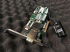 HP Smart Array P222/512 FBWC 6Gb 1-port Int/1-port Ext SAS Controller