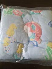 Vintage Baby Dreams NEW seahorses blue ocean stars sealife theme Comforter  RARE