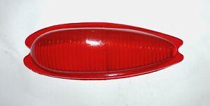 PORSCHE 356/ PLASTICA FANALE POSTERIORE SX/ LEFT REAR LIGHT LENS