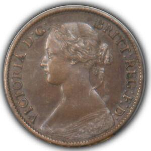 1861 Canada Canadian Nova Scotia Half Cent Ch AU +