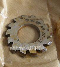 Lot 1pcs HSS M1 20 degree #1 Cutting Range 12-13 Teeth Involute Gear Cutter