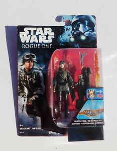Figurine Star Wars  ROGUE ONE. SERGENT JYN ERSO   Hasbro 2016. NEUF sous blister