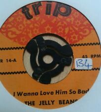 """Northern Pop Soul 45 The Jelly Beans """"I Wanna Love Him So Bad"""" trip Reissue"""