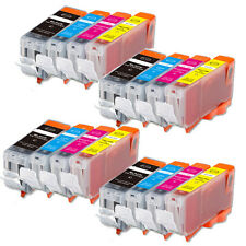 16 NEW Ink Pack Set for PGI-5 CLI-8 plus chip Canon iP3300 iP3500 MX700 MP510