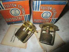 2 NORS Thermostats 1937 38 39 40 41 42-1948 Ford V-8 85, Deluxe, Mercury, Truck