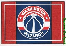 187 TEAM LOGO USA WASHINGTON WIZARDS STICKER NBA BASKETBALL 2017 PANINI