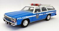 Greenlight 1/18 Scale 19062 - 1988 Ford LTD Crown Victoria Wagon - NYPD