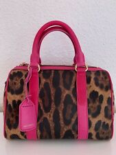 D&G Dolce & Gabbana Tasche Handtasche Leopard Leo Print