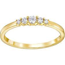 Anello DONNA Swarovski Frisson 5257541 5240568 mis 55 58 ring Veretta oro dorata