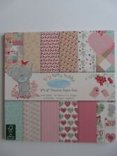 "Tiny Tatty Teddy Me To You 8x8"" Papers 36 Sheet Full Paper Pack Girl TTTDP005"