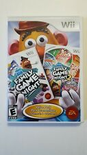 Hasbro Family Game Night Value Pack 2-in-1 (Nintendo Wii, 2010): Used, complete!