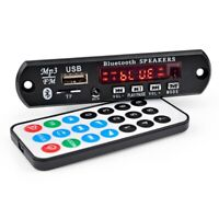 Bluetooth 5.0 MP3 Decoder Board Receiver Stereo Sound Amplifier FM AUX Home AMP