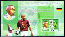Congo 2006 MNH Imperf MS, Sports, Football, Soccer, Thierry Henry from France