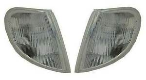 Peugeot Partner Mk1 1996-2002 Clear Front Indicator Pair Left & Right