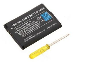 Batterie pour Nintendo 3DS - 2000 mah 3,7 V + tournevis - CTR-003