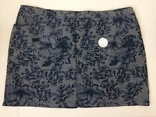 Croft & Barrow Women's Skort Size 24W Five Pockets 99% Cotton New