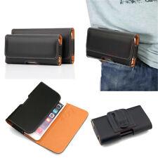 Mens PU Leather Waist Bag Belt Loop Clip Holder Wallet Case Holster Phone Pouch