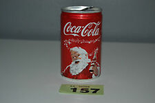 1x Coca Cola Christmas Truck Tour 2013 Limited Holidays Coke Red Can With Santa