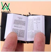 bj MINI BIBLE ENGLISH MINI BIBLIA ESPANOL SMALLEST BIBLE KEYCHAINS LLAVEROS