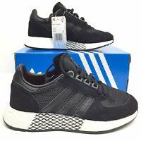 Adidas Originals Marathon X 5923 Boost Men's Size 5 Running Shoes Black EE3656